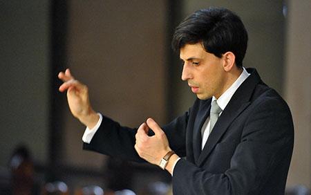 François Bernard, Chef d orchestre et directeur artistique Ensemble Musica, Saint Etienne
