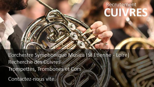 Musica recrute des instrumentistes Cuivre